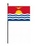 Kiribati Country Hand Flag - Small.